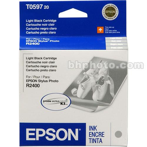 Epson UltraChrome Light Black Ink Cartridge T059720