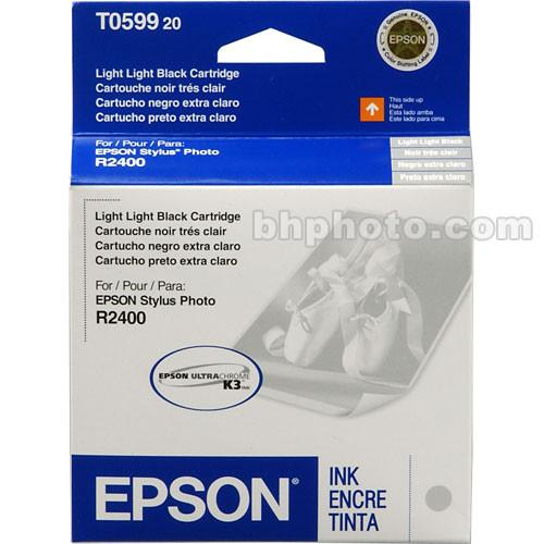 Epson UltraChrome Light Light Black Ink Cartridge T059920