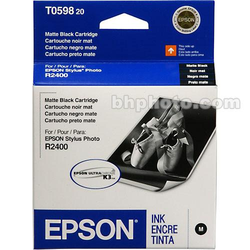 Epson UltraChrome Matte Black Ink Cartridge T059820, Epson, UltraChrome, Matte, Black, Ink, Cartridge, T059820,