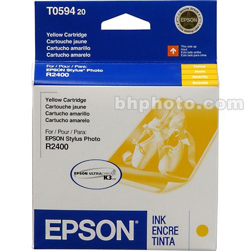 Epson  UltraChrome Yellow Ink Cartridge T059420