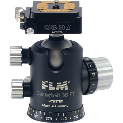 FLM CB-38 FTR Ball Head with QRP-50 Quick Release 12 38 909