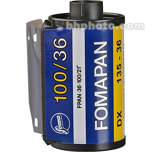 Foma Fomapan 100 Classic Black and White Negative Film 420136