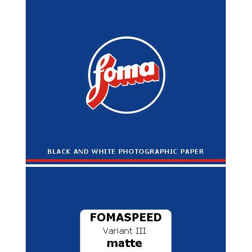 Foma Fomaspeed Variant III VC RC Paper 8x10/25 Sheets 41282