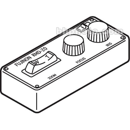 User manual Fujinon RMD-20 Servo Type, Remote Control Box