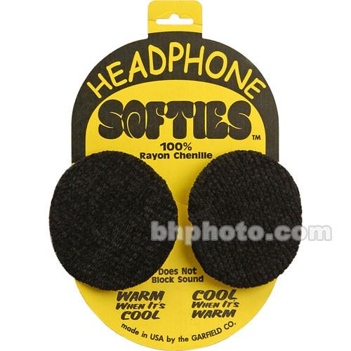 Garfield Headphone Softie Earpad Covers (Black, Pair) SGARHS1