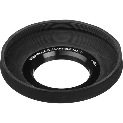 General Brand 49mm Screw-In Rubber Wide Angle Lens Hood NP11149