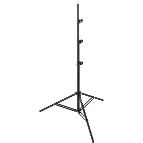 General Brand Air-cushioned Light Stand (Black, 8') LS8A