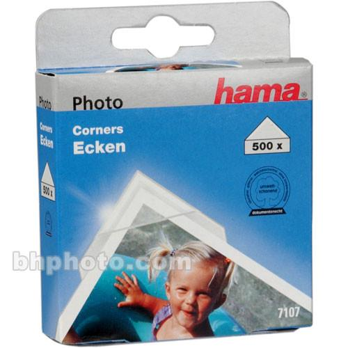 Hama  Clear Photo Corners (500) HA-7107