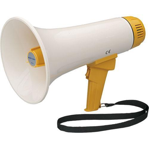 HamiltonBuhl MM-3 - Mighty Mike Bull Horn Megaphone MM-3