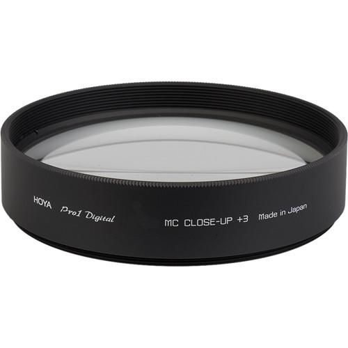 Hoya 58mm  3 Close-Up Pro 1 Digital Multi-Coated Glass XD58CUP3