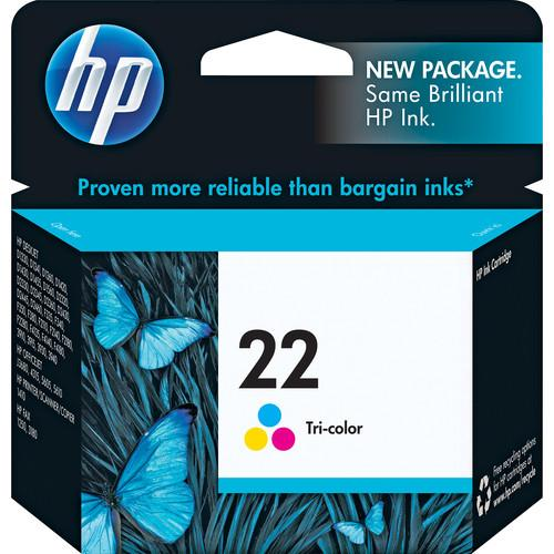 HP HP 22 Tri-color Inkjet Print Cartridge (5ml) C9352AN#140