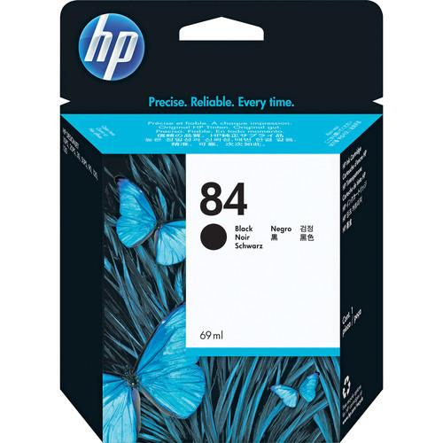 HP  HP 84 Black Ink Cartridge (69 ml) C5016A
