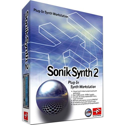 IK Multimedia Sonik Synth 2 Plug-In SS-PLUG-HCD-IN