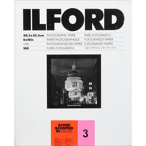Ilford  ILFOSPEED RC DeLuxe Paper 1605734