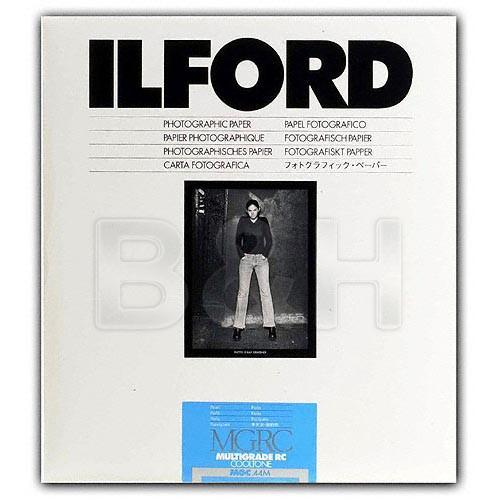 Ilford Multigrade Cooltone Resin Coated (RC) Black & 1952023