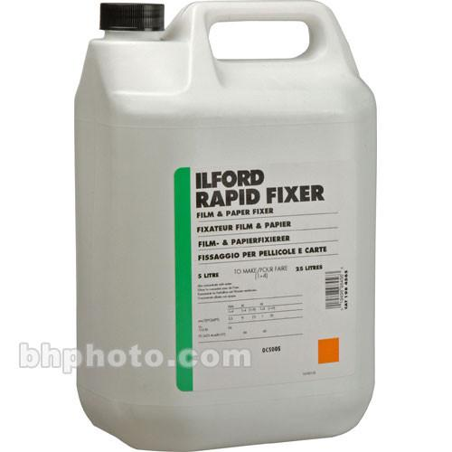 Ilford  Rapid Fixer (Liquid,5 Liters) 1984565