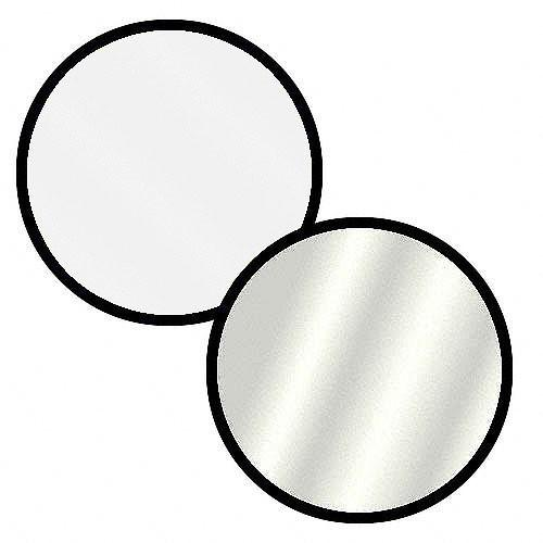 Impact Collapsible Circular Reflector Disc - Silver/White R1642