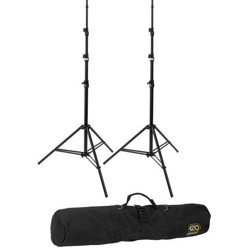 Kino Flo Medium Duty 2-Light Stand Kit with Carry Bag KIT-S2
