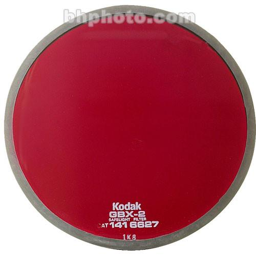 Kodak GBX-2 Dark Red Safelight Filter 5.5