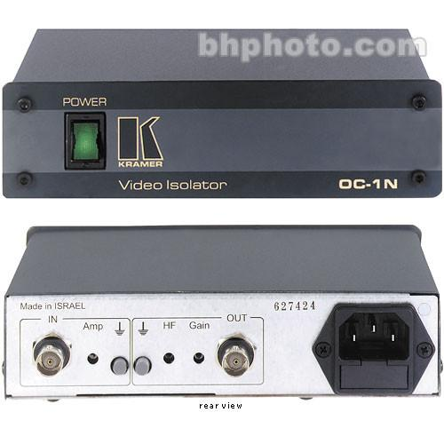 Kramer OOC-1N Composite Video Optical Line Isolator - 120 OC-1N