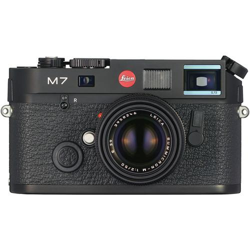 Leica M7 TTL .72 with 50mm f/2.0 M Lens Starter Set 10546