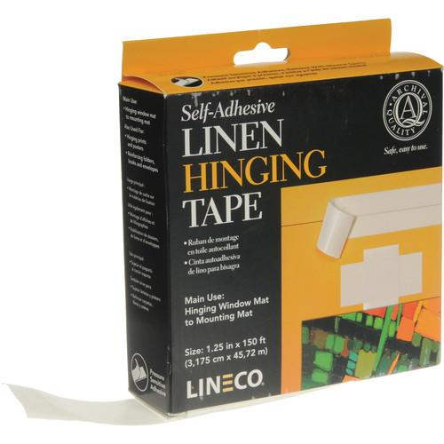 Lineco Self-Adhesive Linen Tape - 1.25