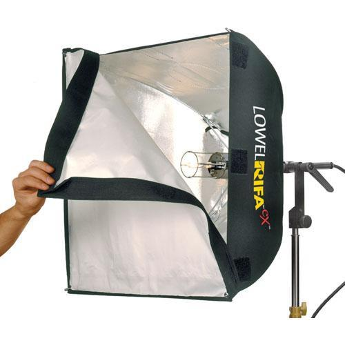 Lowel LC55EX Rifa-Lite eX Softbox Light with Lamp LC-55EX1