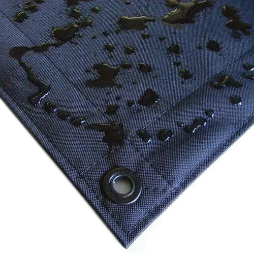 Matthews 6x6' Overhead Fabric - Black China Silk B309605