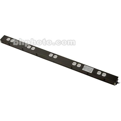 Middle Atlantic 15Amp 10 Outlet Power Strip PD-1015C-NS