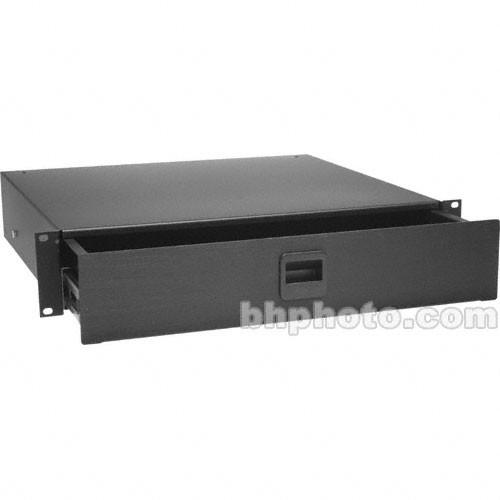 Middle Atlantic  2-Space Rack Drawer (Black) D2