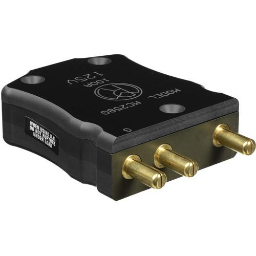 Mole-Richardson 100 Amp 125 Volt 3-Pin Plug MC258G