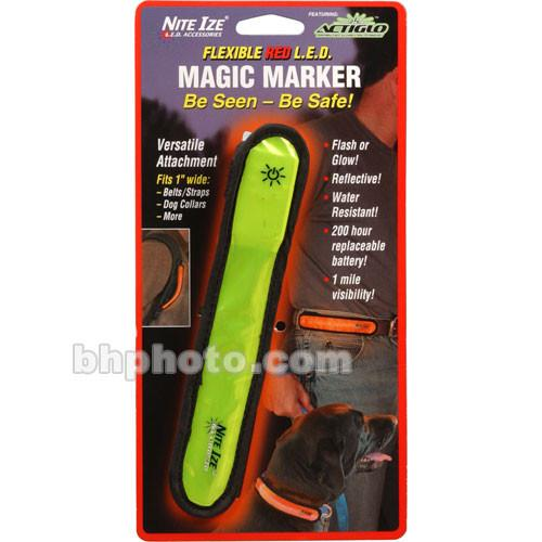 Nite Ize  Magic Marker w/ LED - Red NMM0310