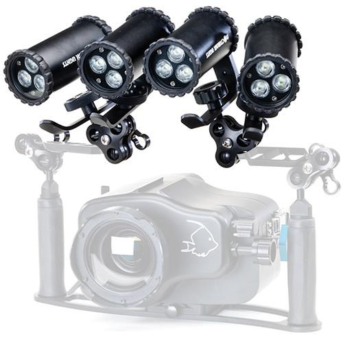 Nocturnal Lights SLX 800i Quad Video NL-SLX-800I-PKG-BALL-QUAD