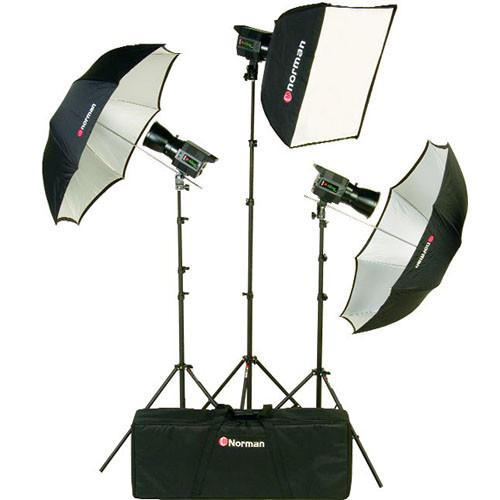 Norman Allure 3-Light Portrait Kit (120 VAC/12 VDC) 812797