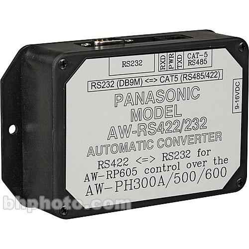 Panasonic  AW-RS422232 Adapter Box AWRS422/232