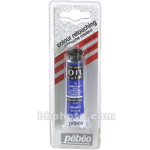 Pebeo Oil Color Paint: No.12 Ultramarine Blue - 102780110