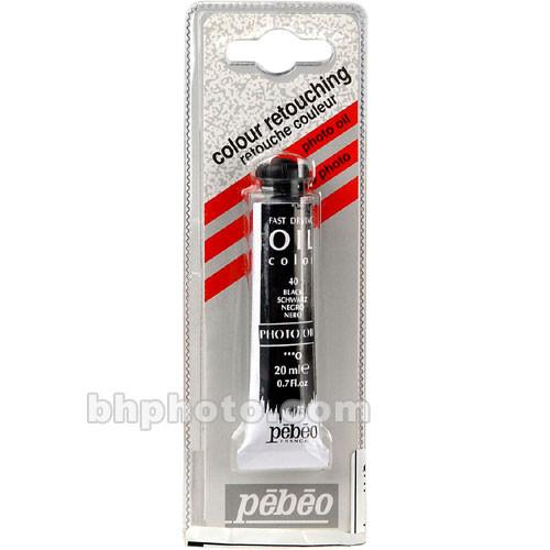 Pebeo Oil Color Paint: No.40 Black - 3/4x4