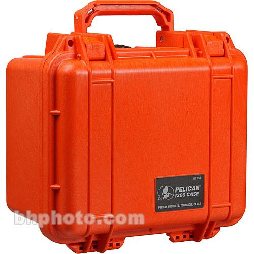 Pelican 1300 Case without Foam (Orange) 1300-001-150