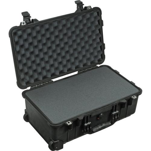 Pelican 1510 Carry-On Case with Foam Set (Black) 1510-000-110