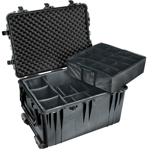 Pelican 1664 Waterproof 1660 Case with Dividers 1660-024-110