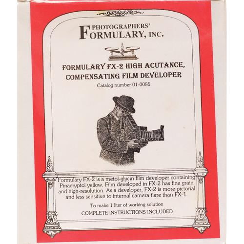 Photographers' Formulary FX-2 High Acutance Film 01-0085