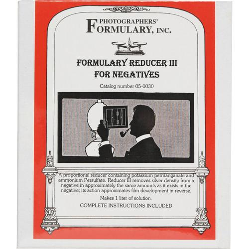 Photographers' Formulary Reducer III for Black & 05-0030