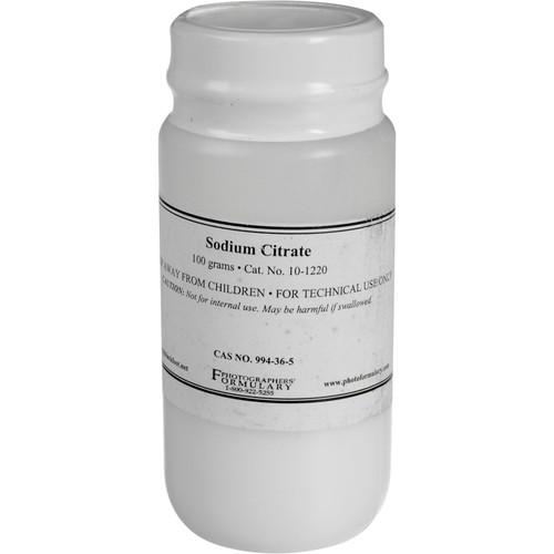 Photographers' Formulary Sodium Citrate - 100 Grams 10-1220 100G