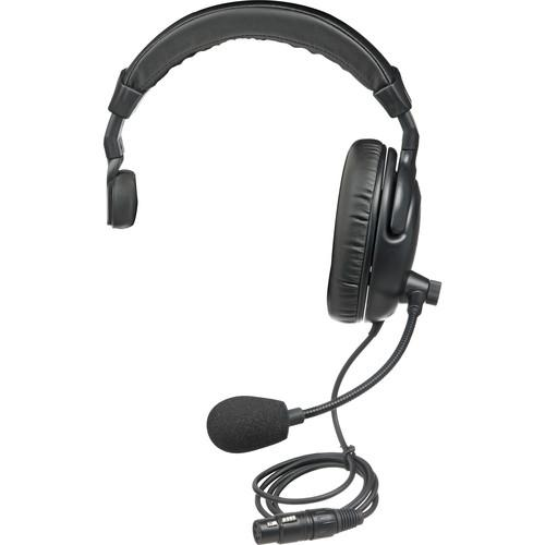 PortaCom H200S - Single-Sided Headset for Intercoms H-2000S