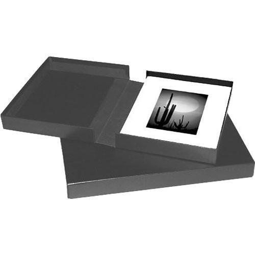 Print File Black Archival Portfolio Box with Black 210-5050