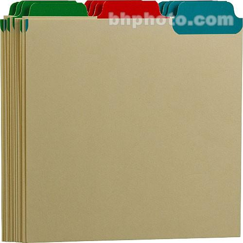 Print File CD Tabbed Dividers (Set of 12) 275-1010