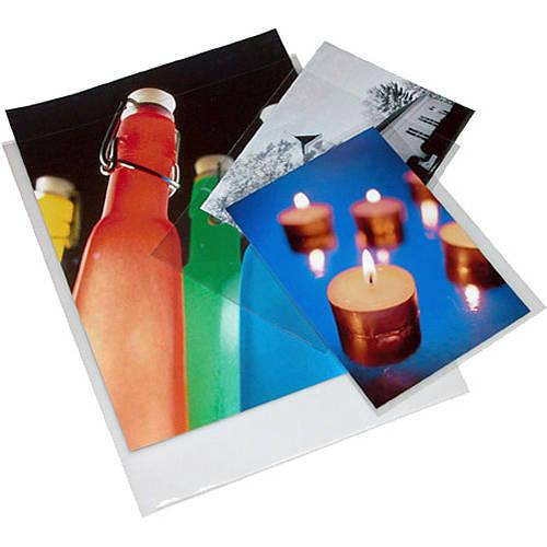 Print File Polypropylene Presentation Pocket - 4 x 066-0460