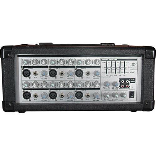Pyle Pro PMX601 - 150 Watt 6-Channel Powered PA PMX601
