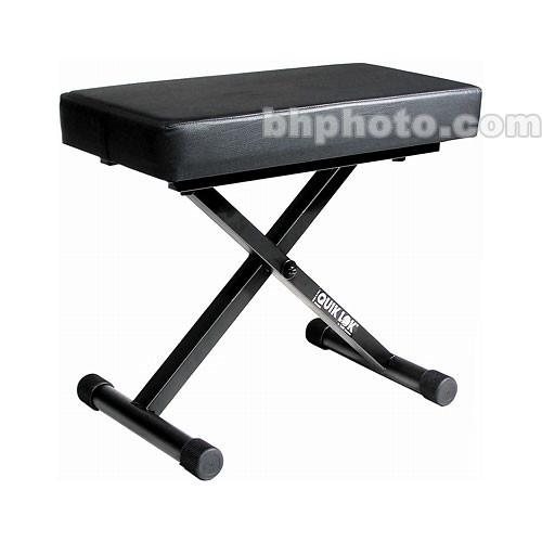 QuikLok BX-718 - Deluxe Collapsible Keyboard Bench BX-718
