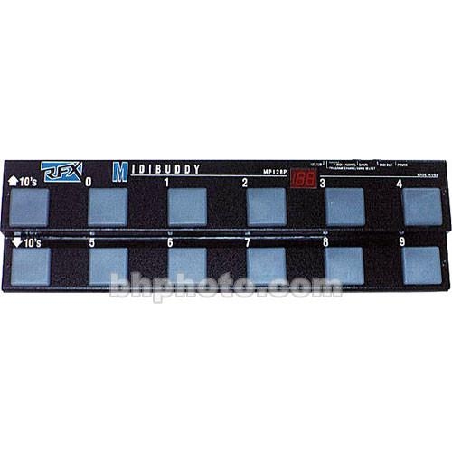 RFX  MP-128 - MIDIBUDDY Pedalboard MP128